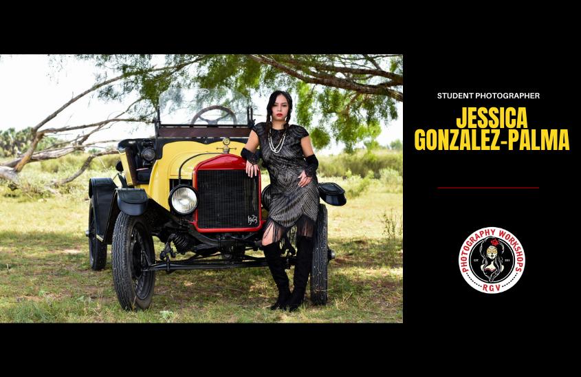 Student Photographer Retro Photography Project 2021 1920's - Jessica Gonzalez-Palma